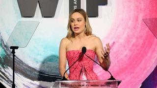 Brie Larson Receives 2018 Women In Film Crystal Award