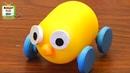 Машинка из киндер капсулы на 3D принтере, игрушка сюрприз своими руками