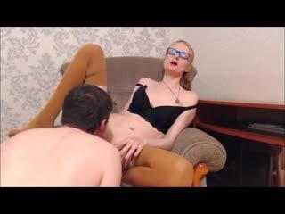 порно зрелая блондинка сосет член и трахается раком [порно, ебля, инцест, минет, трах,секс,измена]