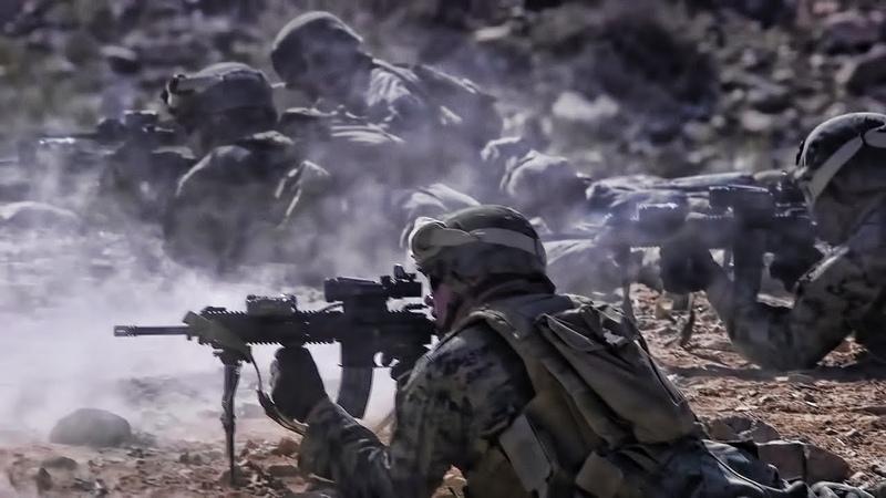 U S Marines Live Fire Fun At Range 410A Twentynine Palms
