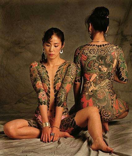 Женское лицо якудза, или Что вы не знали про японскую мафию., изображение №6