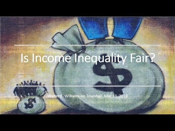 Is Income Inequality Fair