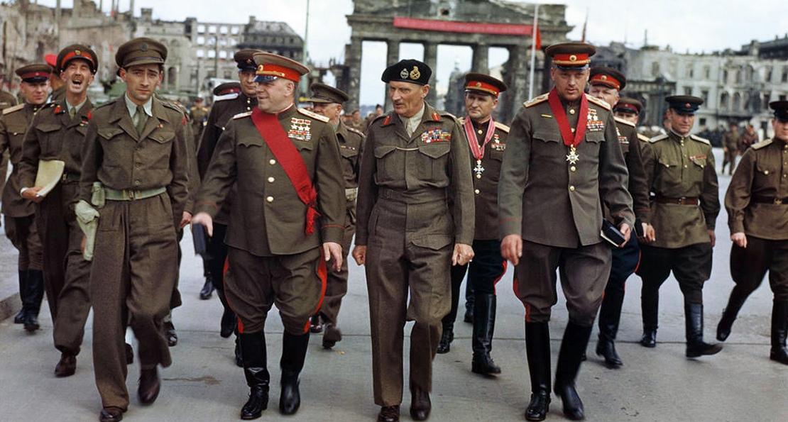Союзники в Берлине
