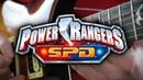Power Rangers S.P.D. Theme on Guitar