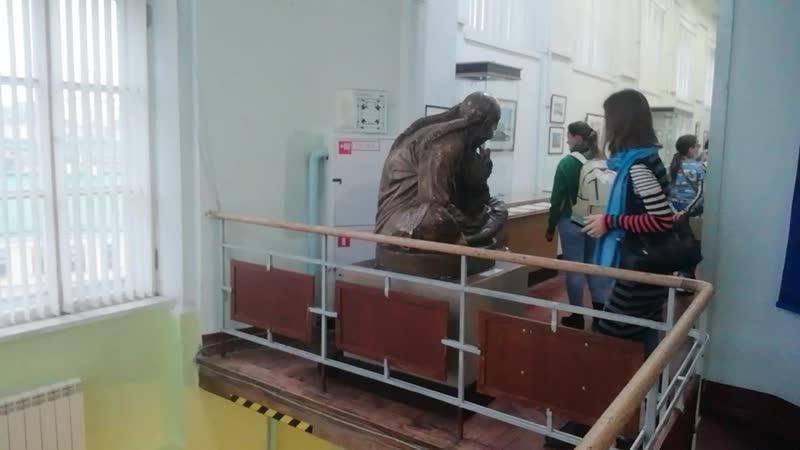 🕍музей Антарктики 🌠Лестница на первый этаж