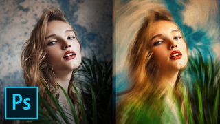 """Variable Speed"" Feature for Incredible Painting Effect! - Photoshop Tutorial"