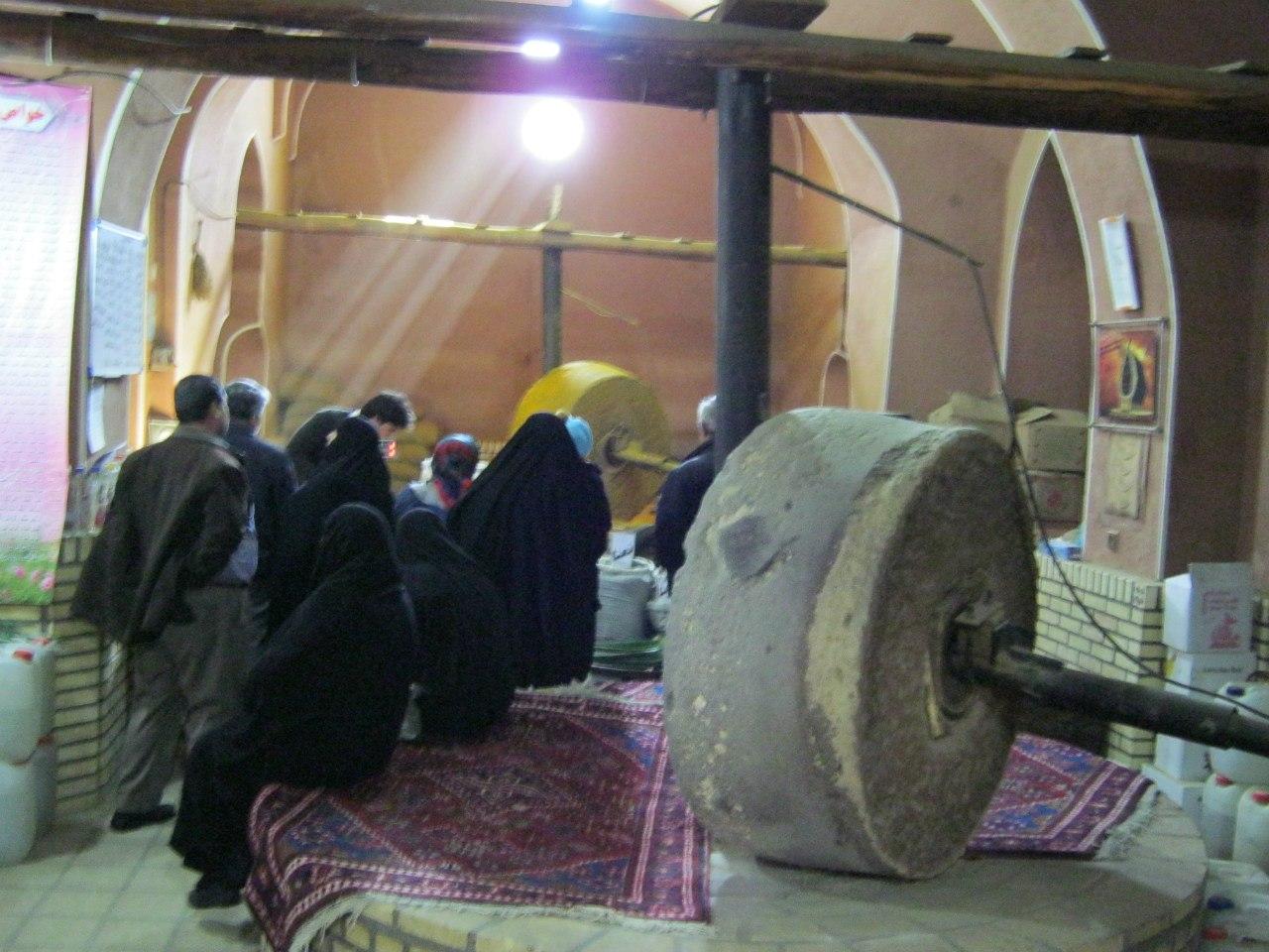 На старинном базаре в Кашане