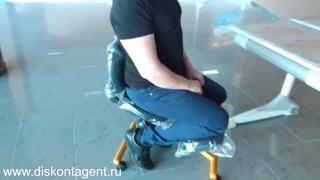 Коленный стул кресло Smartstool KW02B - достоинства и недостатки. Коленный стул купить в Минске.