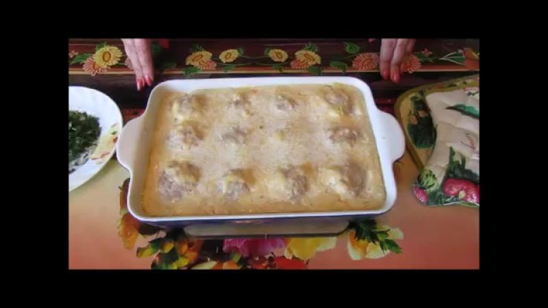 Тефтели в Молочно-Сырном Соусе. Meatballs in Milk-Cheese Sauce