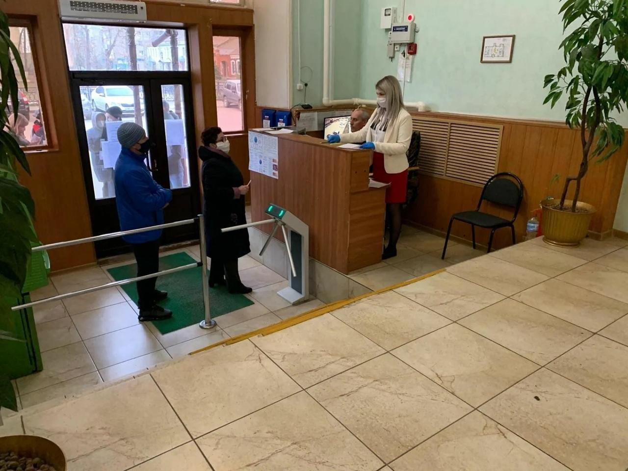 В администрации Петровского района началась и ведётся работа по выдаче пропусков