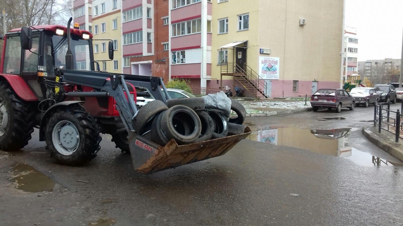 Ул. Московская, 101 и 109 Вывоз автомобильных