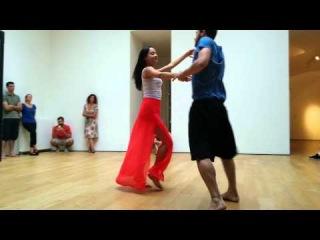 Démonstration de Valmir Coelho et Juliane Rosa 12-07-2014