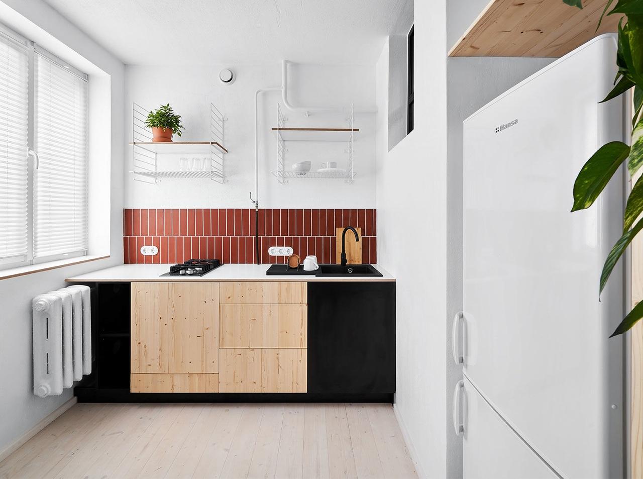 Line Design Studio: маленькая квартира в Калининграде
