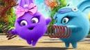 Солнечные зайчики - Все серии подряд 2 - Смешные мультики для детей