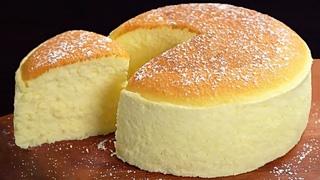 Dies ist kein Kuchen, sondern eine echte flauschige Wolke. Kochen und genießen. Joghurtkuchen  # 140