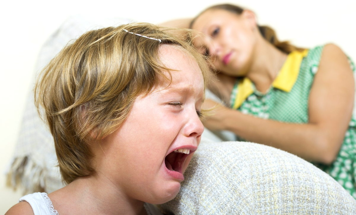 Ребенок кричит на маму картинка