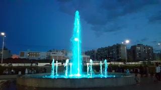 Музыкальный фонтан, бульвар героев отечества, г.Саратов. пос.Солнечный-2 ()