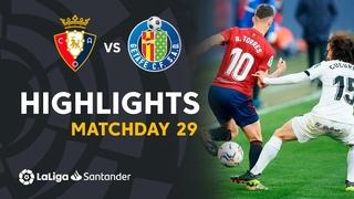 Highlights CA Osasuna vs Getafe CF (0-0)