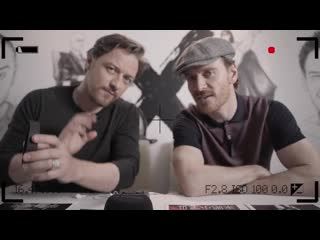 GQ CHINA Impossible interview Michael Fassbender James McAvoy