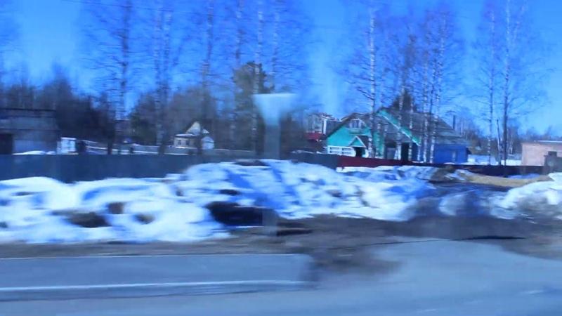 вДОль Усть - ВЫМя, 5 04 2019