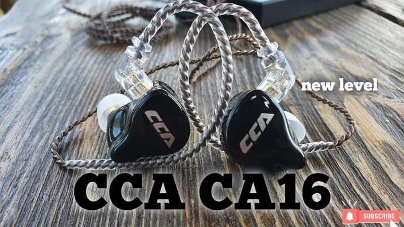 Обзор наушников CCA CA16