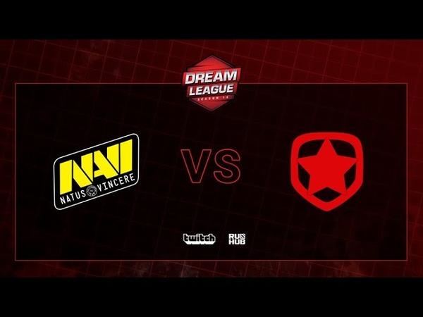 Natus Vincere vs Gambit, DreamLeague S13 QL, bo3, game 1 [CrystalMay Smile]
