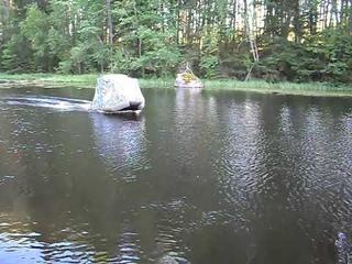 Ходовой тент для надувной лодки пвх
