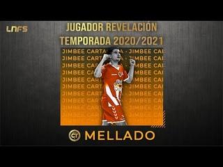 Mellado - Trofeo al 'Jugador Revelación' de la Temporada 2020/21