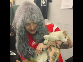 Bexey and cat