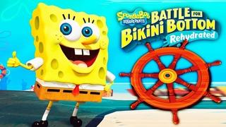 ГУБКА БОБ #5 СОБРАЛ ВСЕ РУЛИ! Приключения Губки Боба SpongeBob SquarePants: Battle for Bikini Bottom