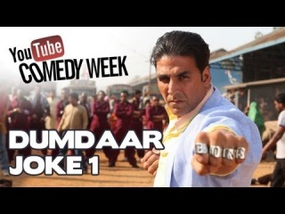 YouTube Comedy Week with BOSS | шутка 1  | Akshay Kumar