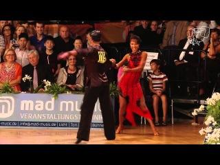 Nino Langella and Kristina Moshenskaya - 2013 WDSF GrandSlam Latin Round 6 Samba