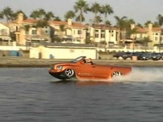 Автомобиль-амфибия WaterCar - магнит для девочек :Р