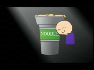 Classic Cyanide & Happiness - I Love Noodles (rus)