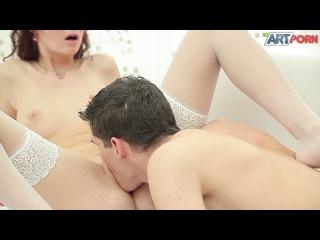 Lucka (aka Kattie Gold) / Красивый секс с брюнеткой