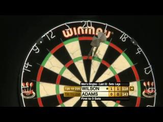 James Wilson vs Martin Adams (Winmau World Masters 2013 / Last 32)