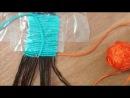 Видеоурок.Как плести фенечку прямого плетения( более двух цветов)Видео специально для группы ,,Фенечки из мулине(схемыидеи)