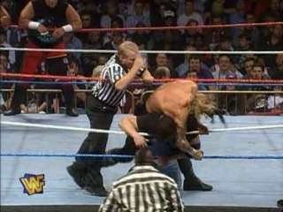 Survivor Series 1995 The Darkside The Undertaker Savio Vega Fatu and Henry O Godwinn vs The Royals King Mabel Jerry Law