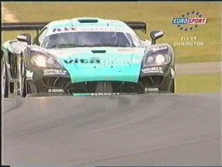 FIA GT 2004 Этап 6 Донингтон Обзор телеканала Eurosport