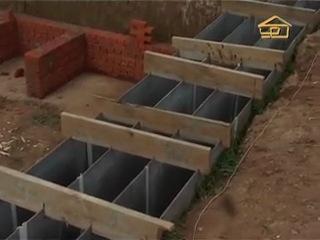 49 - Фундамент энергоэффективного дома с крошкой пеностекла