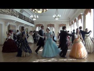 """Вальс Ветер с гор Школа старинного танца """"Fleur de la danse"""""""