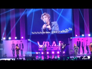 [fan event] 140331 b.a.p - b.a.b.y @ фанмитинг the first date with baby japan (токио, япония)