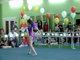 1 юношеский Областные соревнования по акробатике