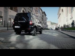 Новый УАЗ Patriot реклама