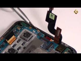 LG Optimus 3D - как разобрать смартфон и из чего он состоит