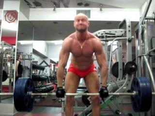 Становая тяга - на рекорд! - №167. Становая тяга классика 140 на 8. Dead lifts 300 lbs