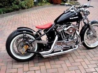 Harley Davidson 1200 sportster bobber chopper UK hard tail (1)