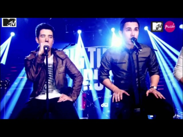 Big Time Rush Boyfriend Acoustic MTV Push live