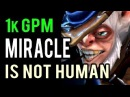 33 Kills 4 Rampage 1k GPM What a Game ! Miracle The Best Meepo In The World 9000 MMR Gameplay Dota 2
