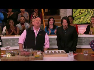 The Chew  (February 06, 2017) Actor Keanu Reeves; recipes from the vault; Michael Symon....